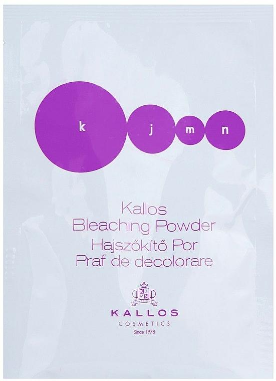 Aufhellendes staubfreies Blondierpulver - Kallos Cosmetics Bleaching Powder