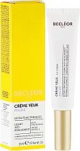 Düfte, Parfümerie und Kosmetik Straffende Creme für die Augenpartie mit Hyaluronsäure und Pflaumensamenextrakt - Decleor Prolagene Lift Lift & Firm Eye Cream