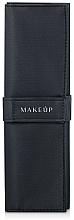 Düfte, Parfümerie und Kosmetik Make-up Etui für 10 Pinsel Basic schwarz - Makeup