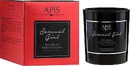 Düfte, Parfümerie und Kosmetik Soja-Duftkerze Sensual Girl - APIS Professional Sensual Girl Natural Soy Candle