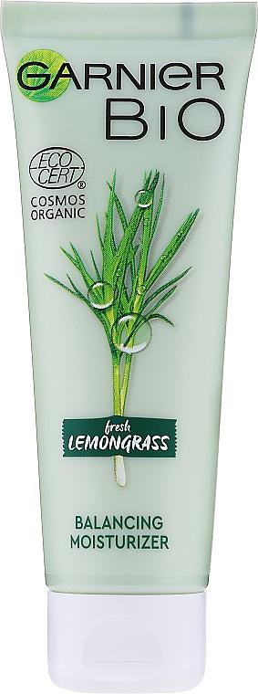 Feuchtigkeitsspendende Gesichtscreme mit Zitronengras - Garnier Bio Fresh Lemongrass