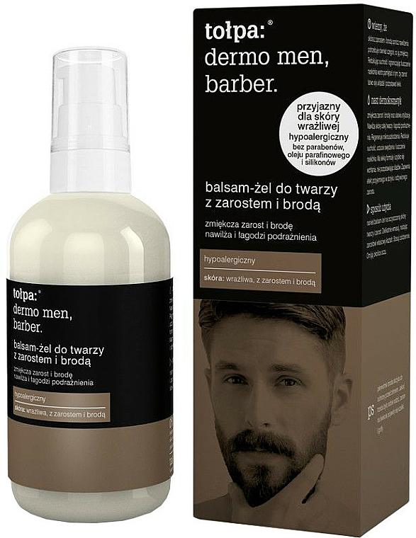 Bartpflege-Gel - Tolpa Dermo Men Barber
