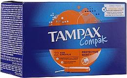 Düfte, Parfümerie und Kosmetik Tampons mit Applikator 22 St. - Tampax Compak Super Plus