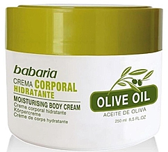 Düfte, Parfümerie und Kosmetik Feuchtigkeitsspendende Körpercreme mit Olivenöl - Babaria Fragrances Moisturising Body Cream With Olive Oil