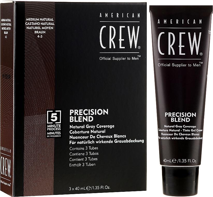 Grauhaarabdeckung Farbe - American Crew Precision Blend Shades