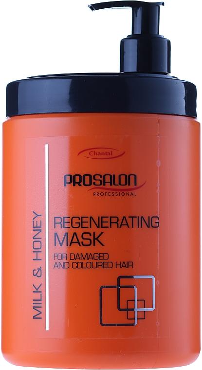 Regenerierende Haarmaske mit Milch und Honig - Prosalon Hair Care Mask