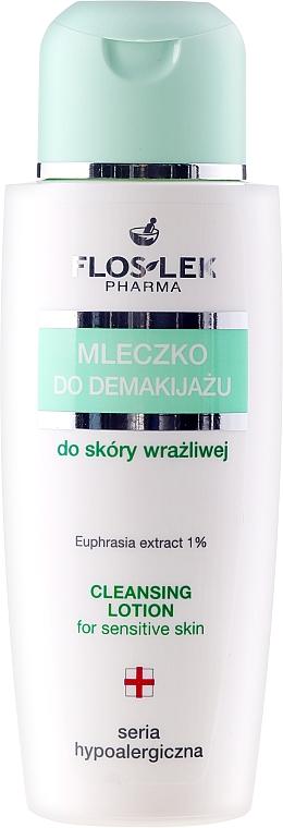 Gesichtsreinigungsmilch zum Abschminken für empfindliche Haut - Floslek Hypoallergenic Milk