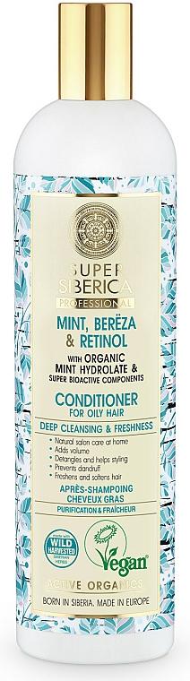 Tief reinigende und erfrischende Haarspülung für fettiges Haar - Natura Siberica Super Siberica Professional Hair Conditioner Deep Cleanising & Freshness — Bild N1
