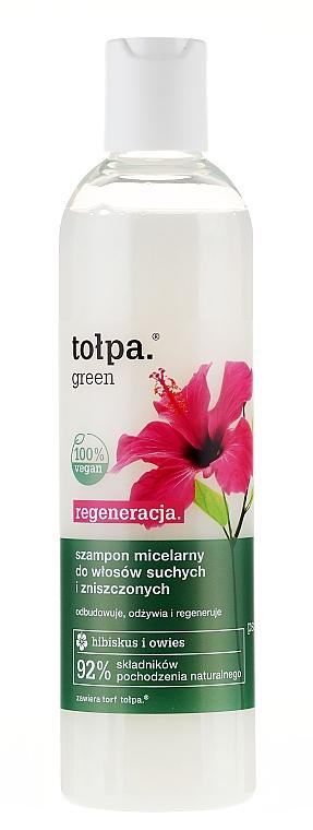 Shampoo für geschädigtes Haar - Tolpa Green Reconstruction Damaged Hair Shampoo