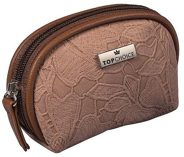Kosmetiktasche Lace 98581 dunkelbraun - Top Choice