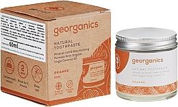 Düfte, Parfümerie und Kosmetik Natürliche Zahnpasta ätherischem Orangenöl - Georganics Red Mandarin Natural Toothpaste
