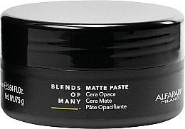 Düfte, Parfümerie und Kosmetik Mattierende Haarstylingpaste Mittlerer Halt - Alfaparf Milano Blends Of Many Matte Paste
