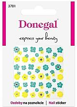 Düfte, Parfümerie und Kosmetik Dekorative Nagelsticker 3701 - Donegal