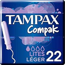 Düfte, Parfümerie und Kosmetik Tampons mit Applikator 22 St. - Tampax Compak Light