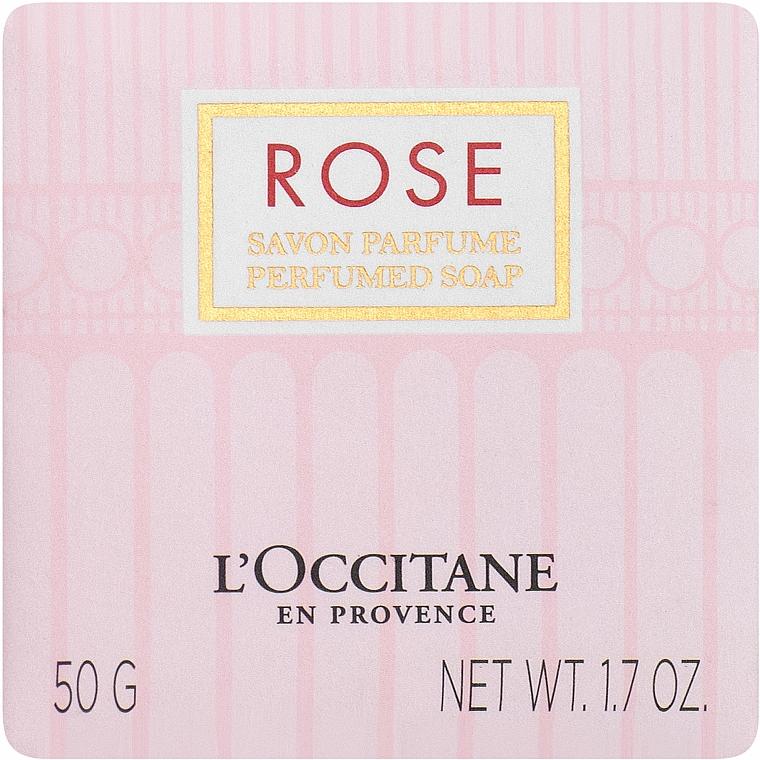L'Occitane Rose - Parfümierte Seife