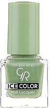 Düfte, Parfümerie und Kosmetik Nagellack - Golden Rose Ice Color Nail Lacquer
