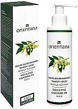 Düfte, Parfümerie und Kosmetik Reinigungsöl für Gesicht und Augen - Orientana Nourishing Cleansing Oil For Face & Eyes Neem