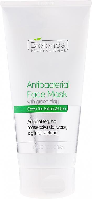 Antibakterielle Gesichtsmaske mit grüner Tonerde - Bielenda Professional Face Program Antibacterial Face Mask with Green Clay