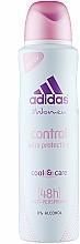 Düfte, Parfümerie und Kosmetik Deospray Antitranspirant - Adidas Anti-Perspirant Control Ultra Protection 48h