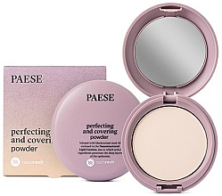 Düfte, Parfümerie und Kosmetik Mattierender Kompaktpuder für das Gesicht - Paese Perfecting & Covering Nanorevit Powder