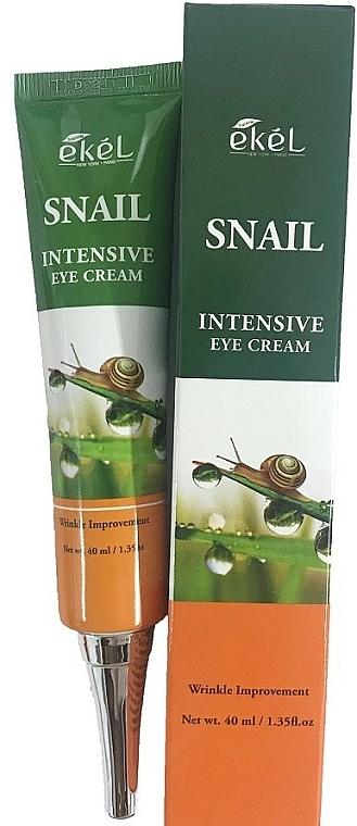 Intensive Anti-Falten Creme für die Augenpartie mit Schneckenschleim - Ekel Snail Intensive Eye Cream