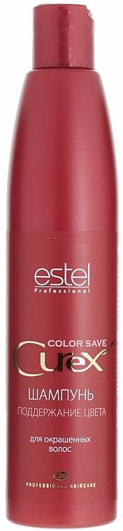 Farbschutz-Shampoo für coloriertes Haar - Estel Professional Color Save Curex — Bild N1