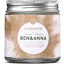Düfte, Parfümerie und Kosmetik Antibakterielles Zahnpulver mit Zimt - Ben & Anna Toothpowder Cinnamon