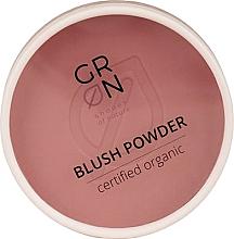 Düfte, Parfümerie und Kosmetik Puderrouge für das Gesicht - GRN Blush Powder