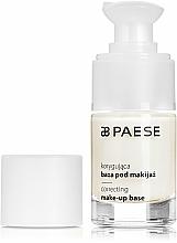 Düfte, Parfümerie und Kosmetik Korrigierende Make-up Base - Paese Correcting Make-Up Base