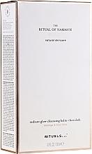 Düfte, Parfümerie und Kosmetik Gesichtspflegeset - Rituals The Ritual Of Namaste Radiant Glow (Gesichtsreinigungsbalsam 100ml + Handtuch)