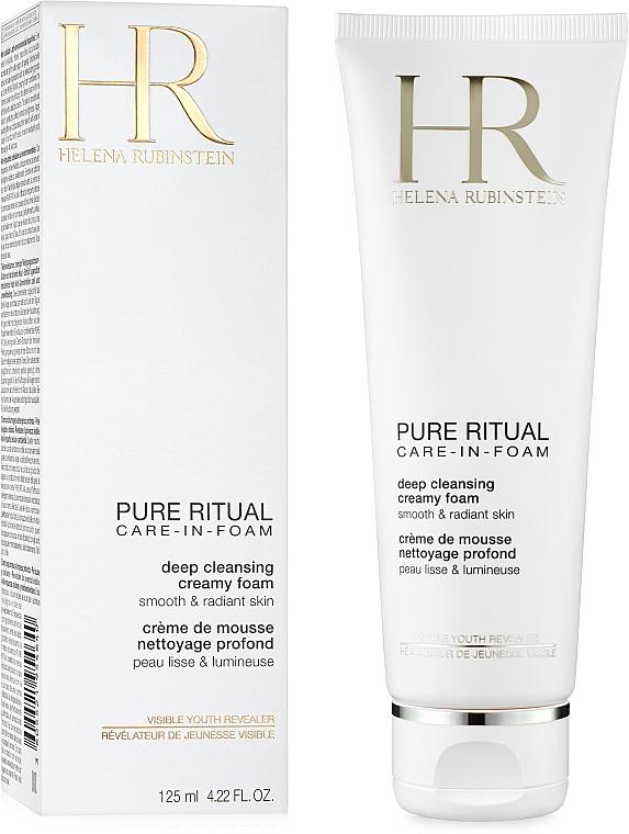 Cremiger Schaum zur Tiefreinigung - Helena Rubinstein Pure Ritual Deep Cleansing Creamy Foam
