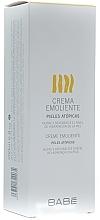 Düfte, Parfümerie und Kosmetik Feuchtigkeitsspendende und aufweichende Körpercreme für trockene Haut - Babe Laboratorios Emollient Cream