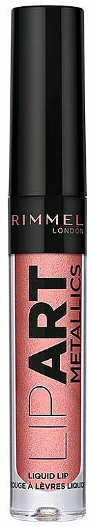 Flüssiger Lippenstift - Rimmel London Lip Art Metallic Liquid Lipstick