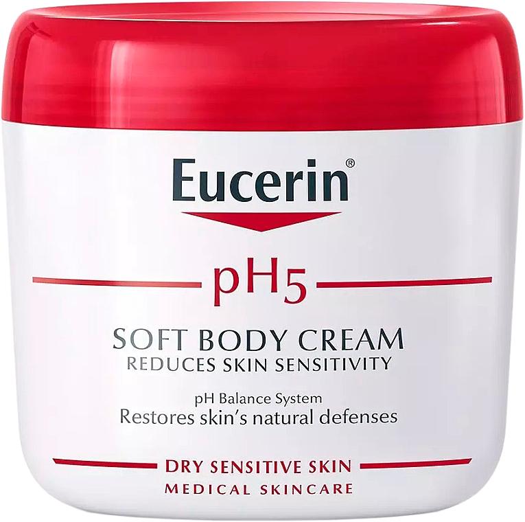 Sanfte Körpercreme für empfindliche Haut - Eucerin Soft Body Cream