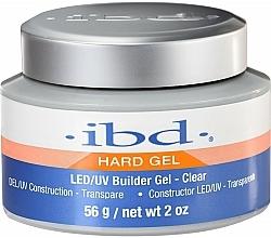 Düfte, Parfümerie und Kosmetik LED/UV Aufbaugel transparent - IBD LED/UV Builder Clear Gel