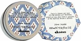 Düfte, Parfümerie und Kosmetik Mattes Trockenwachs für extra starken Halt - Davines More Inside Strong Dry Wax