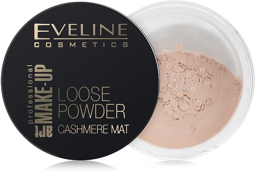 Loser mattierender Puder - Eveline Cosmetics Loose Powder Cashmere Mat