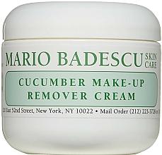 Düfte, Parfümerie und Kosmetik Creme zum Abschminken mit Gurke - Mario Badescu Cucumber Make-up Remover Cream