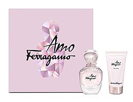 Düfte, Parfümerie und Kosmetik Salvatore Ferragamo Amo - Duftset (Eau de Parfum 30ml + Körperlotion 30ml)