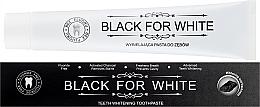 Düfte, Parfümerie und Kosmetik Aufhellende Zahnpasta mit Aktivkohle - Biomika Black For White Teeth Paste