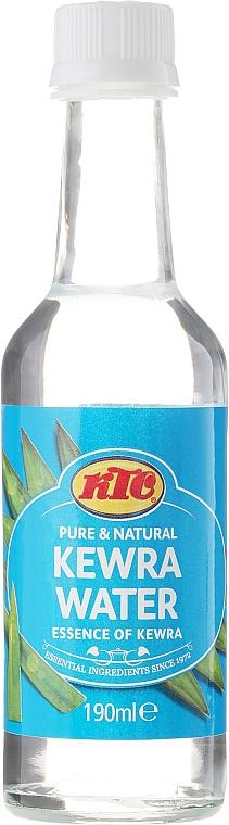 Kewra-Wasser (Blumen Wasser) - KTC Kewra Water