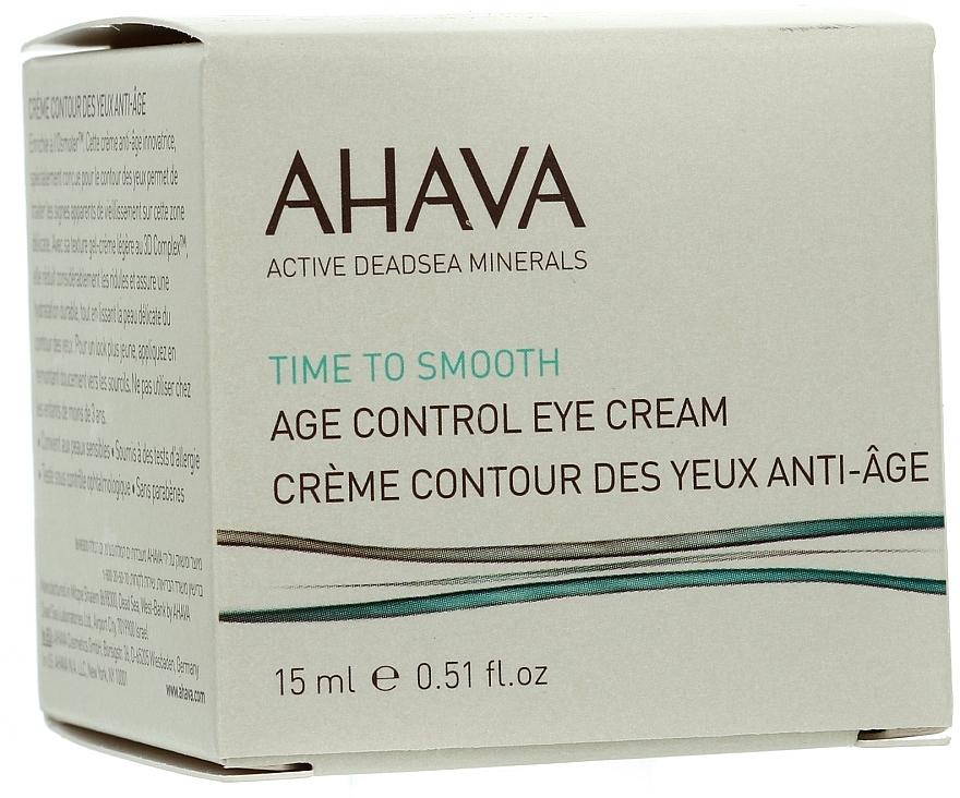 Verjüngende und glättende Augenkonturcreme - Ahava Age Control Eye Cream