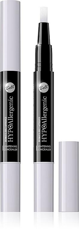 Hypoallergener und aufhellender Gesichts-Concealer - Bell HypoAllergenic Lightening Concealer