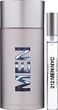 Düfte, Parfümerie und Kosmetik Carolina Herrera 212 For Men - Duftset (Eau de Toilette 100ml + Eau de Toilette 10ml)