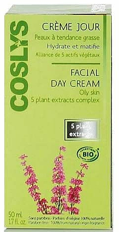 Mattierende Tagescreme für fettige Haut - Coslys Day Cream Oily Skin Types — Bild N2