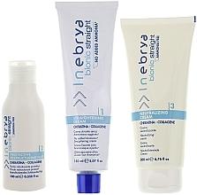Düfte, Parfümerie und Kosmetik Haarpflegeset - Inebrya Bionic Straight Ammonia Free 3 Steps Kit (Haarglättungscreme 150ml + Haarlotion 100ml + Neutralisierende Creme 200ml)