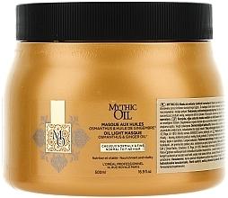 Düfte, Parfümerie und Kosmetik Pflegende Maske für normales bis dünnes Haar - L'Oreal Professionnel Mythic Oil Mask