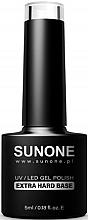 Düfte, Parfümerie und Kosmetik Gel Nagelunterlack - Sanone UV/LED Gel Polish Extra Hard Base
