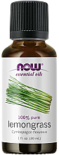 Düfte, Parfümerie und Kosmetik Ätherisches Öl Zitronengras - Now Foods Essential Oils 100% Pure Lemongrass