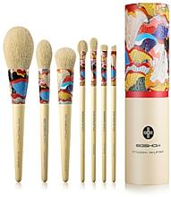 Düfte, Parfümerie und Kosmetik Make-up Pinselset 7 St. - Eigshow Essential Series Yellow Fresher Brush Kit